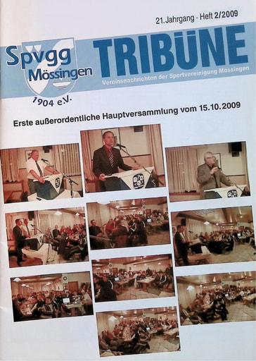 Spvgg Tribüne 2009-2